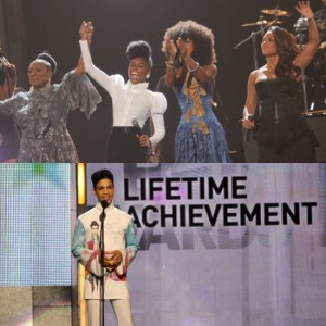 Watch This. Janelle Monáe, Alicia Keys, Esperanza Spalding, and Patti LaBelle Pay Tribute to Prince at the 2010 BET Awards.