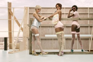 Rihanna Unveils the Images From Her Latest Stance Sock Collection.