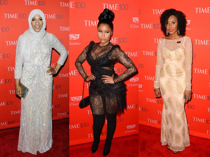 Nicki Minaj, Jaha Dukureh, Ibtihaj Muhammad