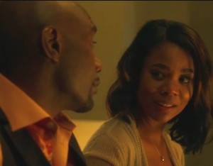 This Thriller Starring Morris Chestnut and Regina Hall Looks Seriously Entertaining.