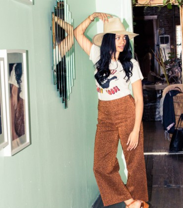 Brother Vellies Creative Director Aurora James Shares Her Closet With The Coveteur.
