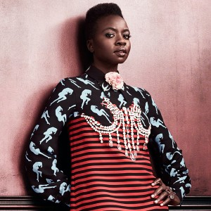 Snapshots.  Danai Gurira for The Edit May 2016.  Images by Bjorn Iooss.