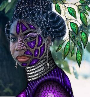 Art. Gelila Metiti Mesfin Creates Intricate Illustrations.