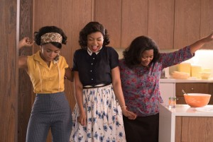 First Look. Taraji P. Henson, Octavia Spencer, and Janelle Monáe in 'Hidden Figures.'