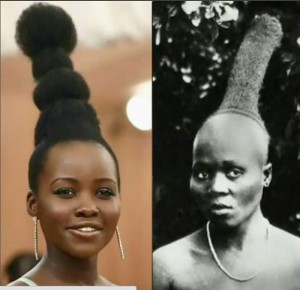 Lupita Nyong'o Schools Vogue on the Inspiration Behind Her Met Gala Hair.