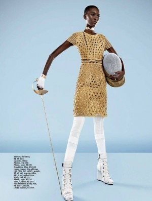 Editorials. Mahany Pery. Elle Brasil May 2016.  Images by Gustavo Zylbersztajn.