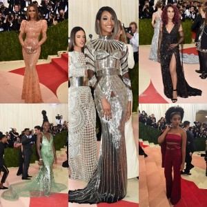 Epic Fashion Post.  The 2016 Met Gala.  Beyoncé, Lupita Nyong'o, Willow Smith, Amandla Stenberg.  +Many More.