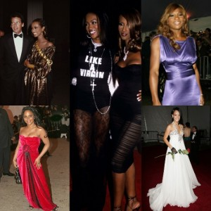 Throwback.  Over 30 Years of Fashion at the Met Gala.