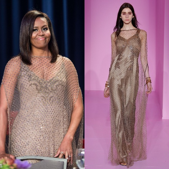Michelle Obama Givenchy Couture