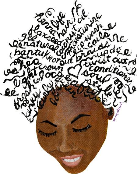Natural Hair Art, Black Artists, Black Women Art