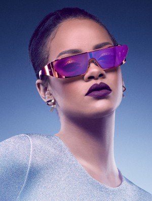 Rihanna Collaborates With Dior for a Space Age Sunglasses Collection.
