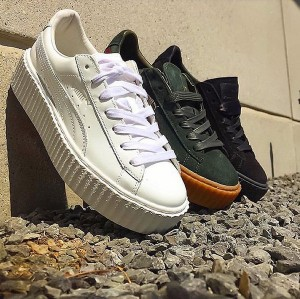 First Look. Rihanna x PUMA Adds New Colorways For the Creeper.