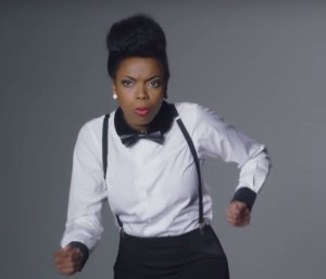 Watch This.  Sasheer Zamata Does Her Best Janelle Monáe Impression in This SNL Outtake.