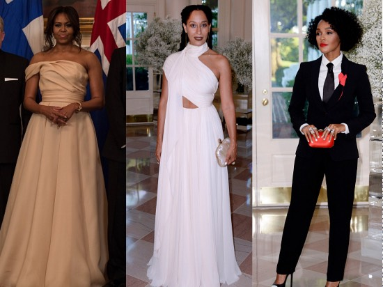Michelle Obama Fashion, Janelle Monae Fashion, Tracee Ellis Ross Fashion