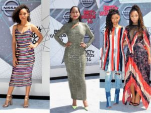 Red Carpet Rundown. The 2016 BET Awards.
