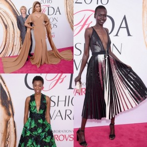 Epic Fashion Post.  The Red Carpet at the 2016 CFDA Awards.