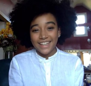 Watch. Listen.  Amandla Stenberg Talks Racism, Activism, Art, and Natural Hair.
