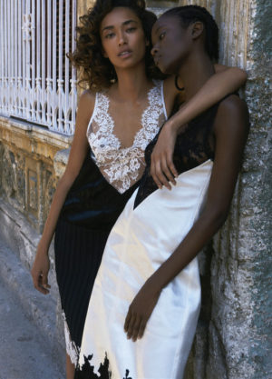 Editorials.  Anais Mali and Riley Montana.  Vogue Ukraine July 2016.  Images by Hans Neumann.