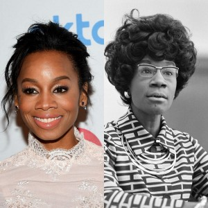 Anika Noni Rose Set to Star in and Produce Shirley Chisholm Film.