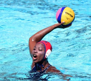 Goaltender Ashleigh Johnson Will Make History This Summer as the First Black Woman to Play Water Polo for the U.S. Olympic Team.