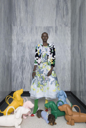 Collections.  Grace Bol for Thom Browne Resort 2017.