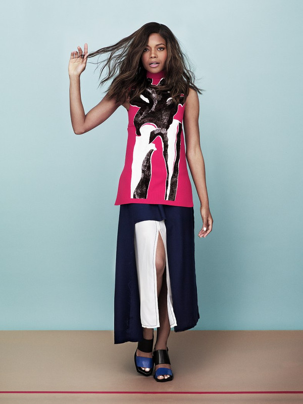 Naomie Harris Glamour