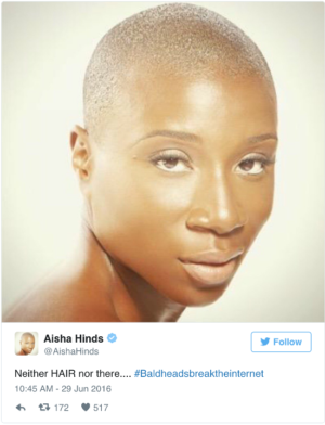 Bald Heads Broke the Internet.  And it was Glorious.