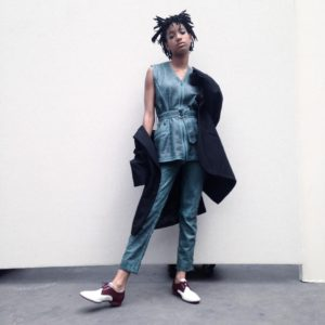 Willow Smith Sits Front Row at Chanel Couture Fall 2016.
