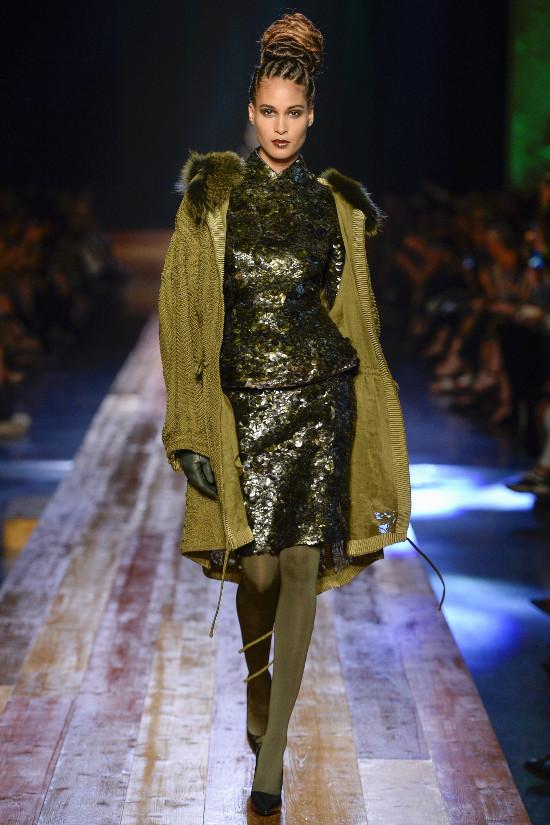 Jean Paul Gaultier Black Fashion Models