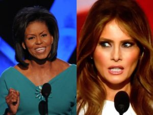 Melania Trump Totally Plagiarized Michelle Obama Last Night.