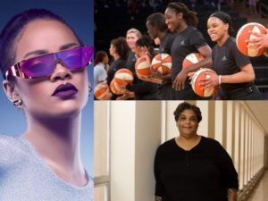 New Round Up.  Roxane Gay is Marvel's First Black Woman Writer.  Rihanna's New Roles.  The WNBA.  And More.