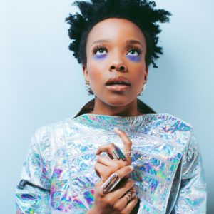 Listen. Download.  Jamila Woods Celebrates Black Girlhood and the City of Chicago with 'HEAVN.'