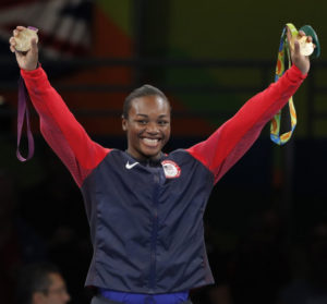 Claressa Shields Becomes First American Boxer To Earn Back-to-Back Gold Medals.