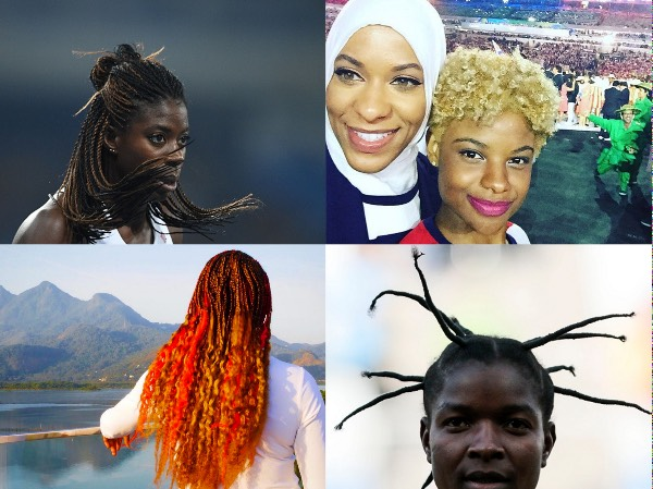 Olympics Natural Hair