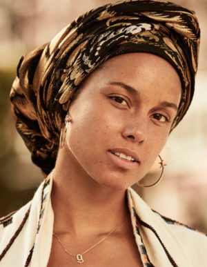 Alicia Keys Goes Makeup Free For Grazia France.  Images by Jason Kim.