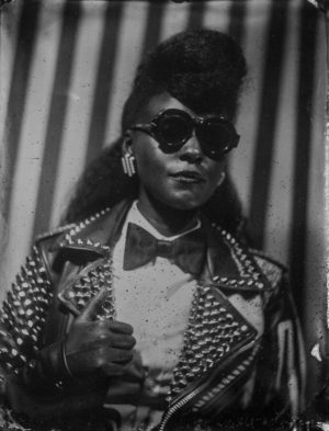 Images. Afropunk and Driely S. Pay Tribute To Malick Sidibé With A Series of Tintype Portraits.