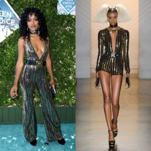 Keke Palmer Kills It in A Custom The Blonds Jumpsuit.