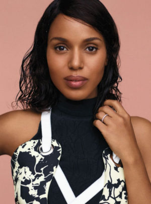 Editorials. Kerry Washington. InStyle September 2016.  Images by Thomas Whiteside.