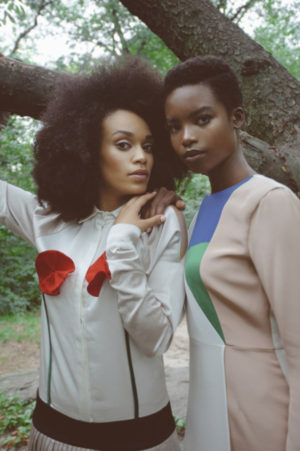 Editorials.  Maria Borges and Pearl Thursi for FASHIZBLACK.