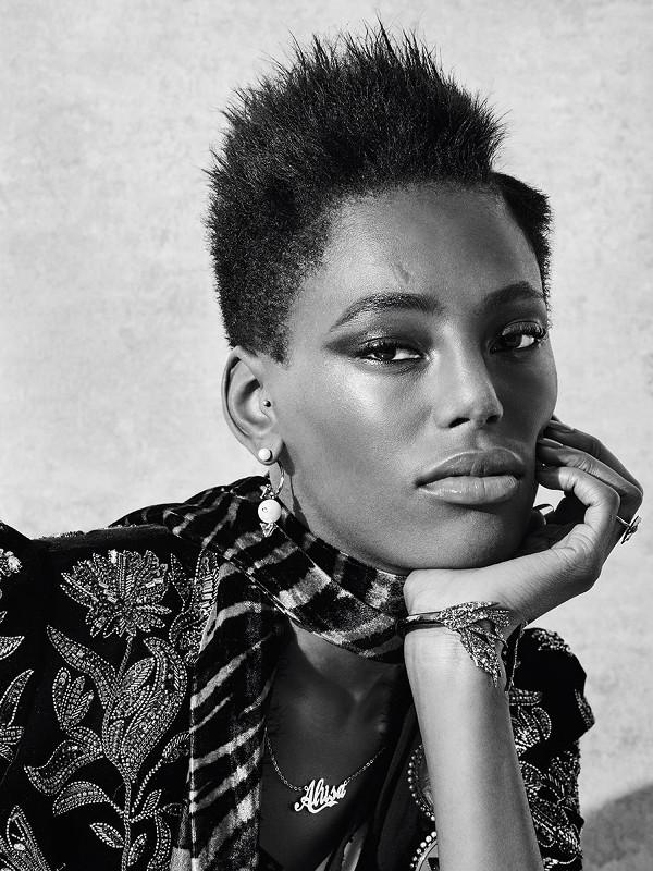 Black Fashion Models Natural Hair
