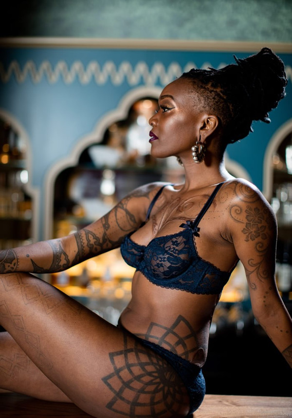 Nubian Skin Lingerie Africa Collection