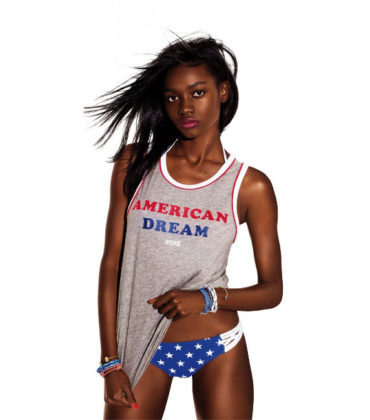 Zuri Tibby is the Newest Face of Victoria's Secret PINK.