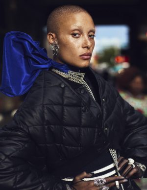 Editorials.  Adwoa Aboah.  W Magazine September 2016.  Images by Mikael Jansson.