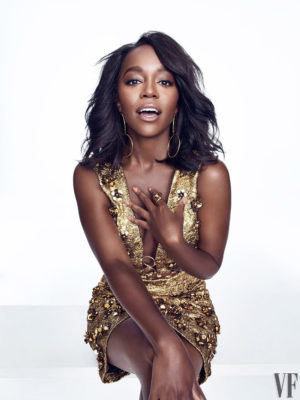 Editorials. Aja Naomi King.  Vanity Fair October 2016.  Images by Williams + Hirakawa.
