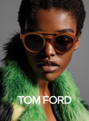 Ads. Amilna Estevão for Tom Ford Fall/Winter 2016.
