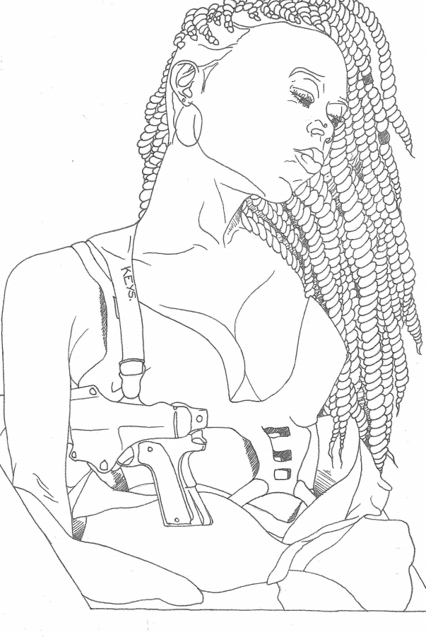 Makeda Lewis Creates Avies Dreams An Afro Feminist Coloring