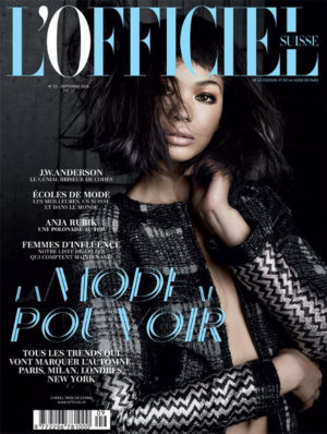 Editorials. Chanel Iman.  L'Officiel Suisse. September 2016. Images by Marie Schuller.