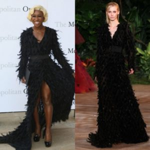 Cynthia Erivo Wears 2 Looks by Christian Siriano.