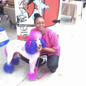 Good Reads. Dog Groomer and Entrepreneur Ethel Taylor Offers Hair Dying,  Nail Painting, and More For Your Pampered Pets.