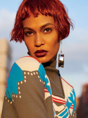 Editorials. Joan Smalls. Glamour Magazine October 2016. Images by Carter Smith.